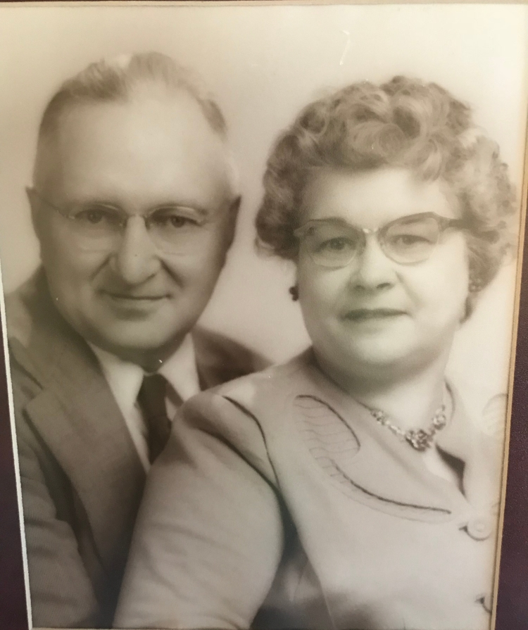 Pete and Ada Mensch: the couple that started it all. Courtesy of Carol Tolsma.